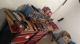 Hand Tools, Work Bench/Tool Chest...