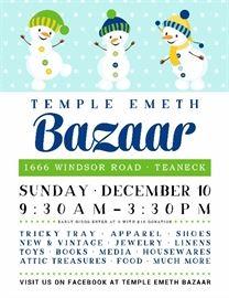 Temple Emeth Bazaar 2017 jpg