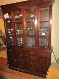 Thomasville Cherry China Cabinet