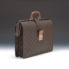 Louis Vuitton Serviette Fermoir Briefcase