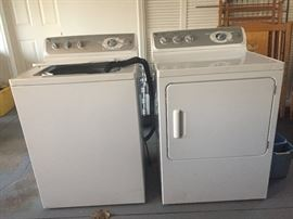 GE washer & electric dryer. Great condition!