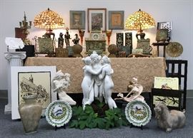 We love to present a beautiful sale.  Pictures of vignettes will be loaded the week prior to the sale.