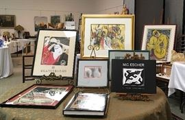 Karin's Causes features a large selection of art that is original, accomplished and affordable,
