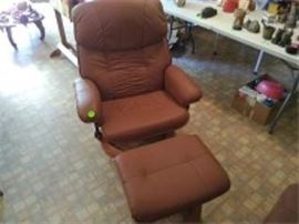 Chairworks Chair & Ottoman