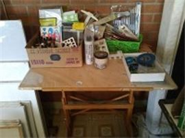 Drafting Table Art Supplies