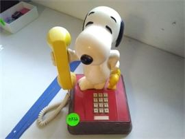 Snoopy Woodstock Phone