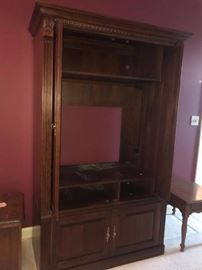#2	Entertainment Center  46x23x80 - you move	 $75.00