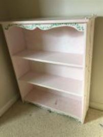 Bellini painted bookshelf