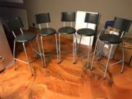 5 Bar Height stools