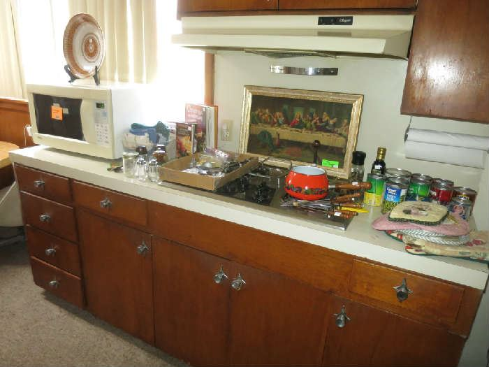 Kenmore Microwave, Kitchen Items, Last Supper Artwork