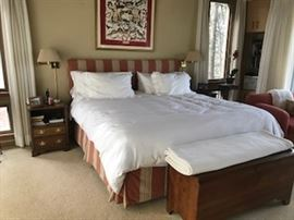 Handsome King Size Bed