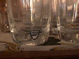Orrefors Glassware