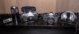 EBC005 Vintage Olympus Camera Selection