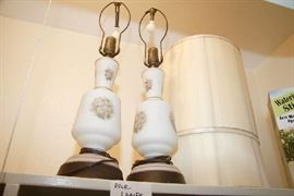 Two Lamps in Closet