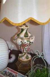 Capodimonte Lamps,