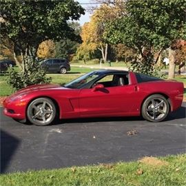 2008 Chevrolet Corvette Coupe 11,860 miles