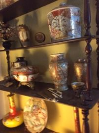 Assorted chinese export porcelain items
