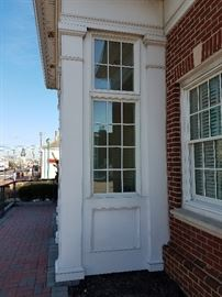 Front Entrance Windows From Exterior
