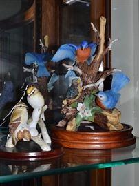 Goebel bird sculptures