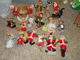 AnnaLee  Christmas figures