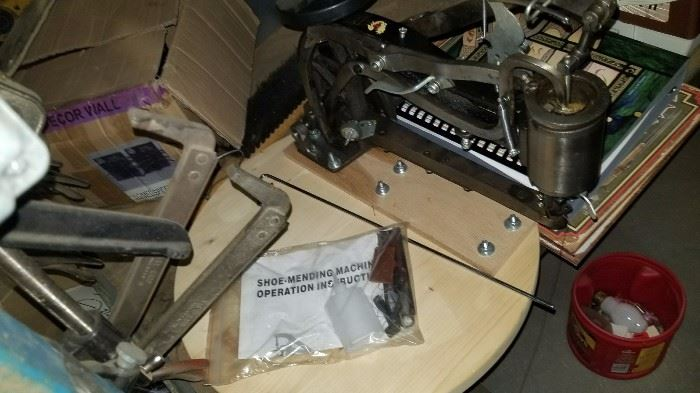 Sewing machine used for leather work