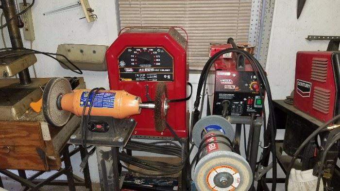 Grinders and multiple welders