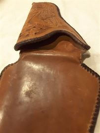 Tooled holster
