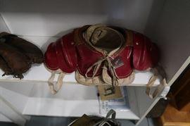 Vintage children's shoulder pads