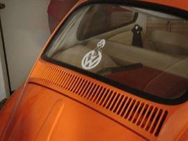 Back window VW Bug