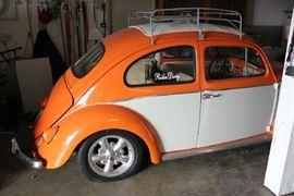Back side of VW