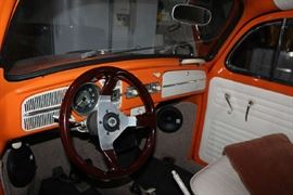 Front console for VW Bug