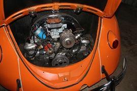 Engine of 1963 VW Bug