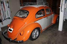 Back of VW Bug