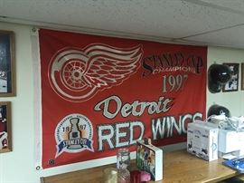 RED WING FLAG