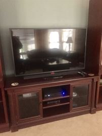 Beautiful like new entertainment center