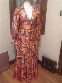 Vintage Hostess Dress