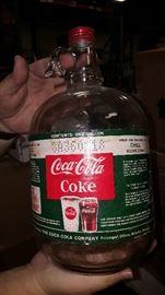 Coke Syrup Bottle