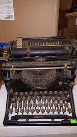 Underwood Antique Typewriter