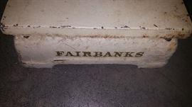 Fairbanks scale