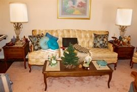 French provincial sofa by Revelry furniture, has a matching arm chair, too!