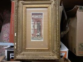 """Old Paris Shop"" Painting by Max Pollock  http://www.ctonlineauctions.com/detail.asp?id=665148"