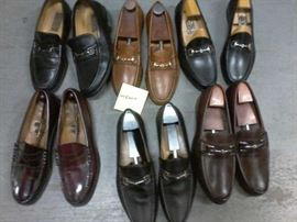 Lot of 6 pairs of Men's Dress Shoes- Size 10 1/2 M  http://www.ctonlineauctions.com/detail.asp?id=663834