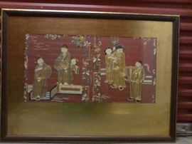 Hand Embroidery Chinese Alter Cloth  http://www.ctonlineauctions.com/detail.asp?id=665157