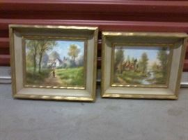 Set of 2 Scenery Pictures - 13 x 17  http://www.ctonlineauctions.com/detail.asp?id=665155