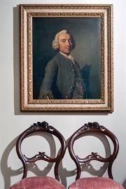 18th century ooc of Sir Thomas Wilson, from interior designer Otto Zenke