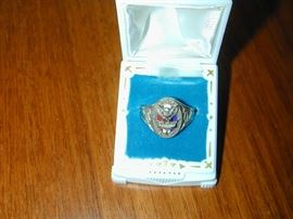 14k Eagle Scout Ring