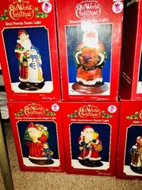 Old World Christmas Santas