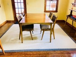 Drexel Mid Century Dining table and chairs
