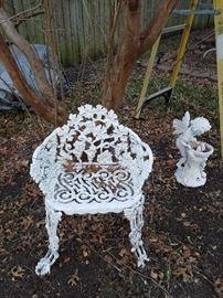 cast iron garden
