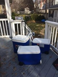 Coolers. Like New